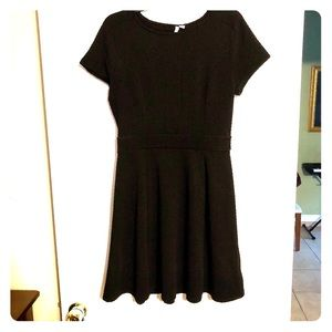 Black Elle fit and flair dress size M